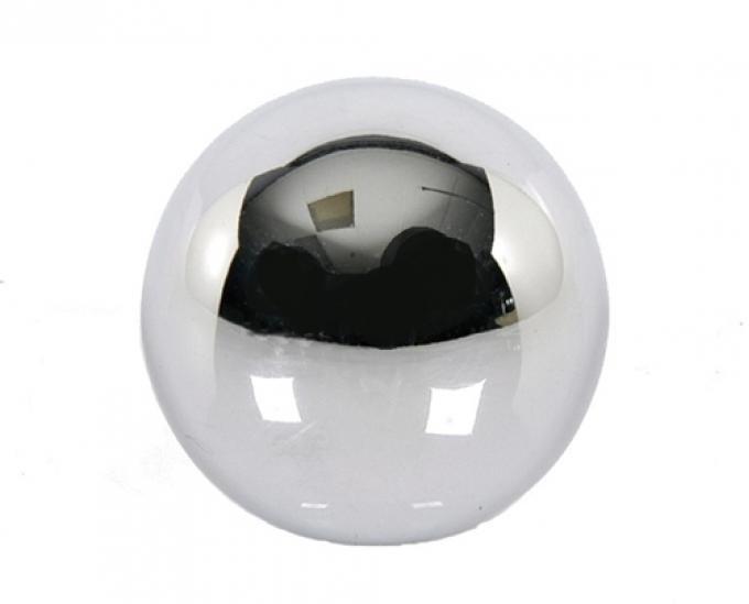 """Classic Headquarters Chrome Shift Ball, 3/8"""" Thread W-113A"""