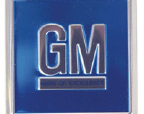 Classic Headquarters GM Mark (Blue) Foil Decal-Each W-857
