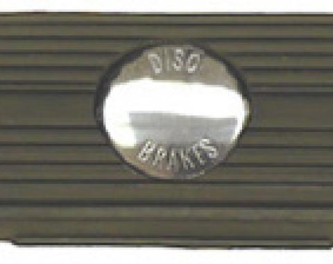 Classic Headquarters Automatic Brake Pad, with Disc Brakes Emblem W-163