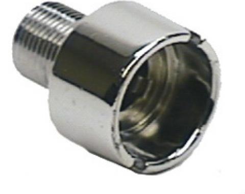 Classic Headquarters Dash Headlamp Nut, Chrome W-078