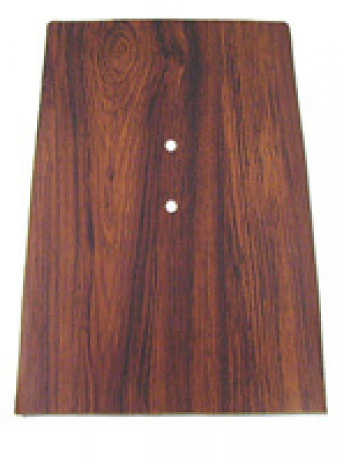 Classic Headquarters Forward Console Plate-Rosewood W-620