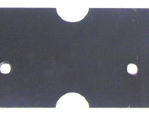 Classic Headquarters Plate-Dual Exhaust Left Hand Frame Bracket W-673