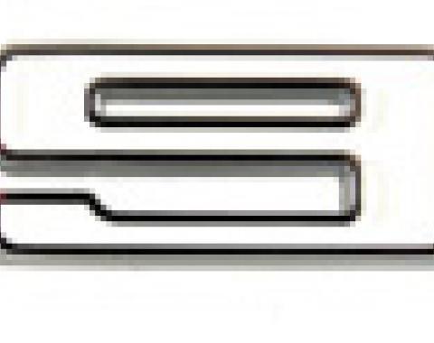 "Classic Headquarters ""396"" Fender Emblem - Right Hand Side W-840B"
