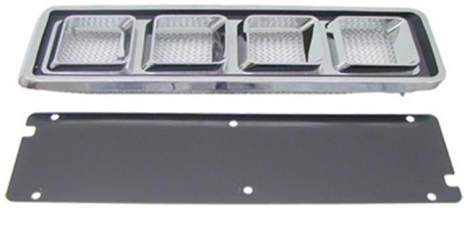 Classic Headquarters Camaro Hood Louver Assembly, Pair W-485