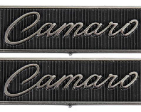 Classic Headquarters Standard Door Panel Emblems-Pair W-805