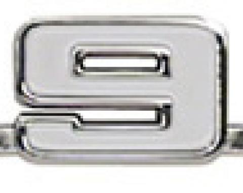 "Classic Headquarters Camaro ""396"" Fender Emblem, Each W-409A"