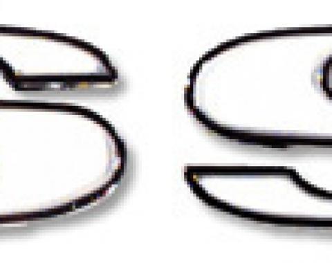 Classic Headquarters SS Fender Emblem, Per Side W-265