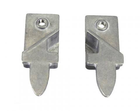 Classic Headquarters F-Body Door Glass Rear Stops, Pair OE Quality W-059