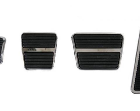 Classic Headquarters Manual Transmission Pedal Pad and Trim Kit W-843