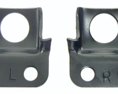 Classic Headquarters Outer Front Bumper Brackets-Right Hand and Left Hand, Pair W-750