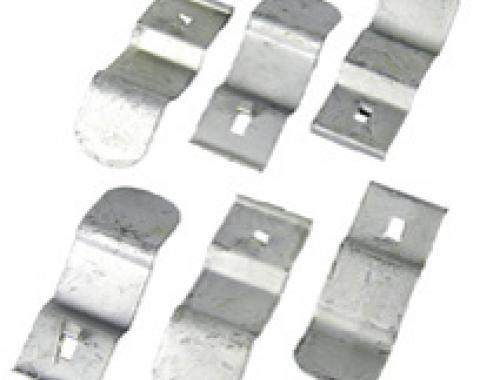 Classic Headquarters Camaro Dash Pad Clips - (Bulk) W-073A