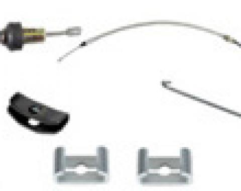Classic Headquarters F-Body OE Park Brake Cable Kit W-863