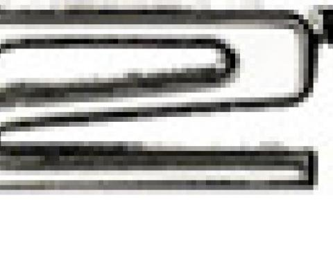 "Classic Headquarters ""327"" Fender Emblem Left Hand W-246A"
