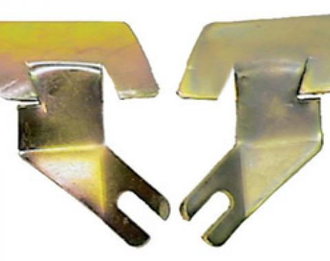 Classic Headquarters F-Body Coupe Front Windshield Molding Clips-Lower-Outer-Pair W-520