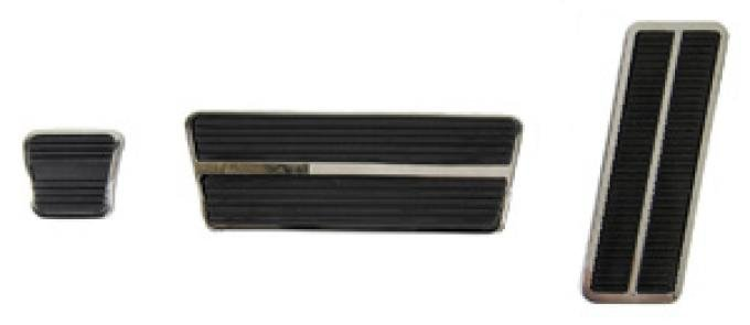 Classic Headquarters Automatic Transmission Pedal Pad and Trim Kit W-887