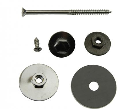 Classic Headquarters F-Body Vent Widow Assembly Hardware Kit, One Side H-180
