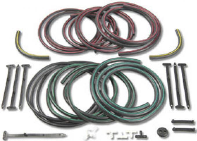 Classic Headquarters Rallysport Color Coded Hose Line Kit W-337