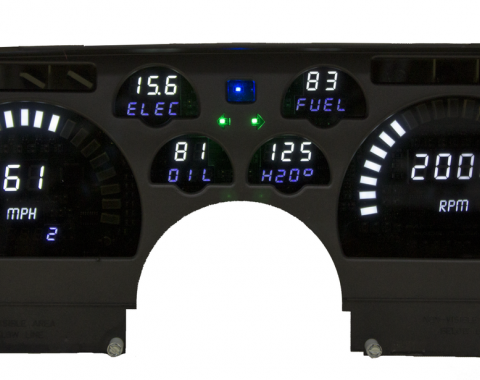 Intellitronix 1991-1992 Camaro LED Digital Gauge Panel DP4005