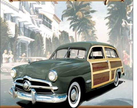 Classic Woody Ford Tin Sign