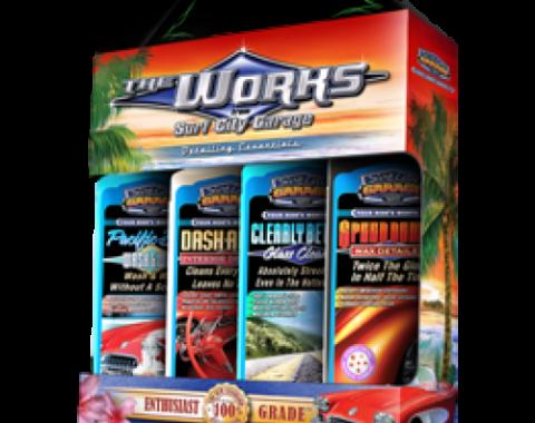 The Works Detailing Essentials, Surf City Garage