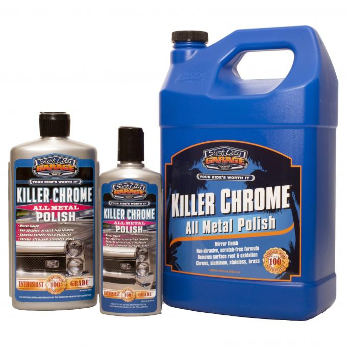Killer Chrome™ Perfect Polish, Surf City Garage