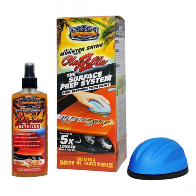Clayzilla® Surface Prep System, Surf City Garage