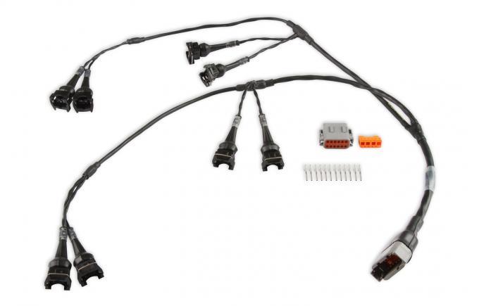 Holley EFI HolleySport EV1 Milspec Injector Harness 558-217