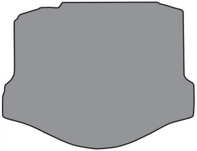 ACC  Chevrolet Camaro Coupe/Convertible Cargo Mat 1pc (P605) Cutpile, 2010-2015