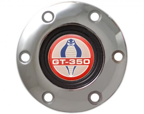 Volante S6 Series Horn Button Kit, Ford GT350, Chrome