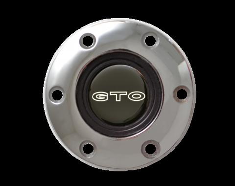 Volante S6 Series Horn Button Kit, GTO, Chrome
