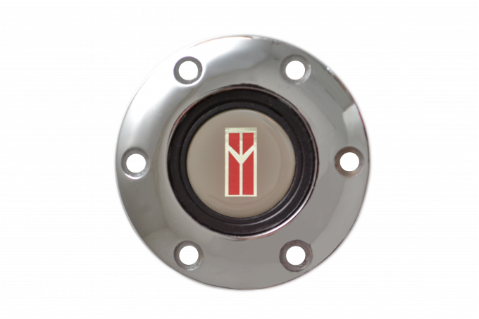 Volante S6 Series Horn Button Kit, Pontiac Oldsmobile, Chrome