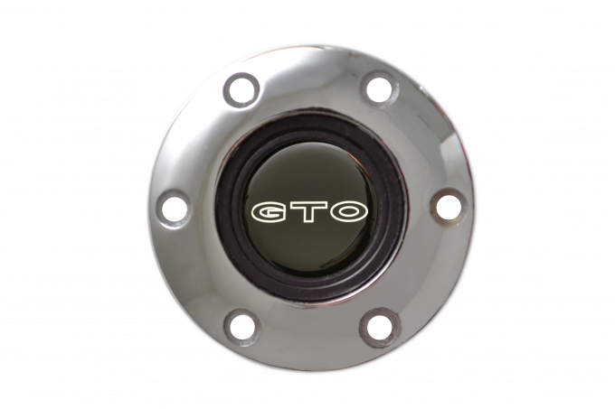 Volante S6 Series Horn Button Kit, GTO, Chrome