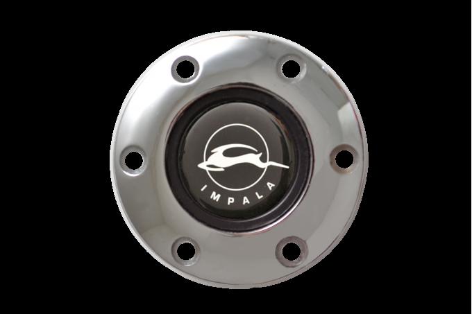 Volante S6 Series Horn Button Kit, Impala, Chrome