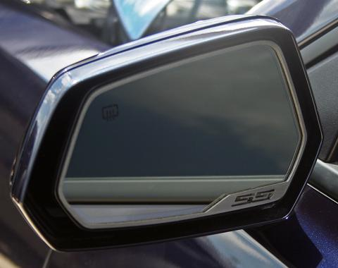 "American Car Craft 2010-2013 Chevrolet Camaro Mirror Trim Side View Satin ""SS Style"" 2pc 102057"