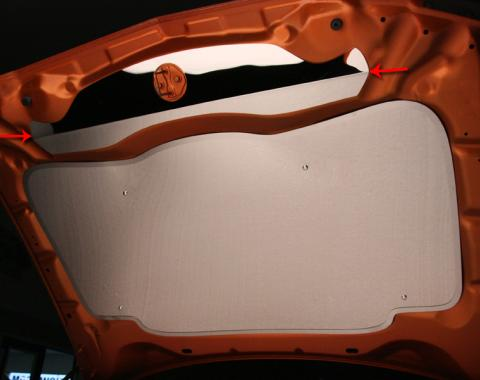 American Car Craft Upper Hood Cap Polished Hemi 5.7L / 3.5L 303022