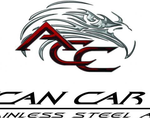 American Car Craft Chevrolet Camaro 2012-2015  Valve Cover/Coil Pack Cover Set 26pc Kit ZL1 103056