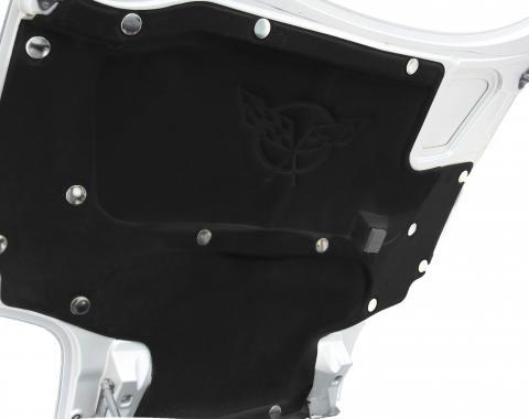 American Car Craft Hood Liner Fasteners Nickel Plated 15pc Kit 043081