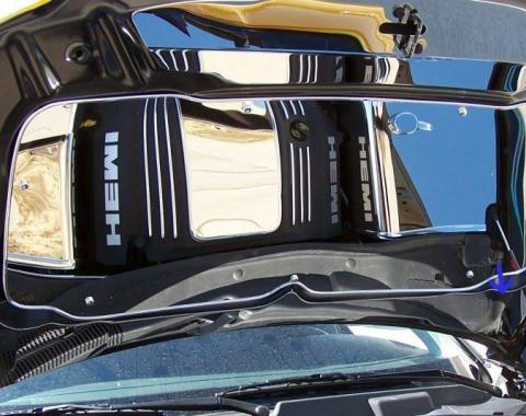 American Car Craft Lower Hood Cowl Polished Hemi 5.7L / 3.5L 303021