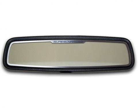 American Car Craft Mirror Trim Rear View Satin Supercharged Style 101032