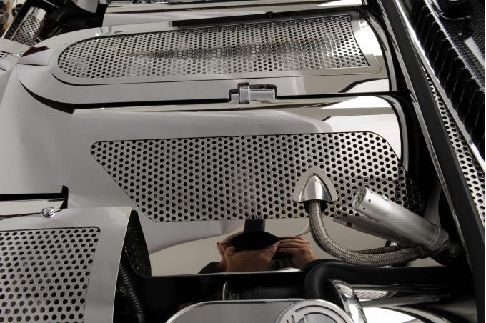 American Car Craft 2016-2020 Chevrolet Camaro Plenum Cover Perforated Low Prof 033030