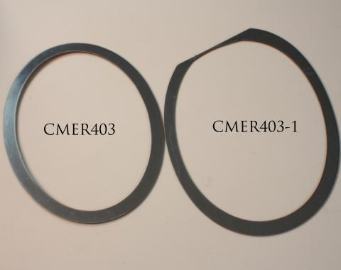 American Car Craft 2010-2013 Chevrolet Camaro Exhaust Trim Rings Polished Full Oval 2pc 102005