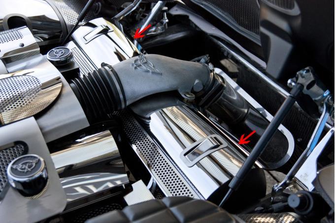 American Car Craft Radiator Cover Perforated 033058