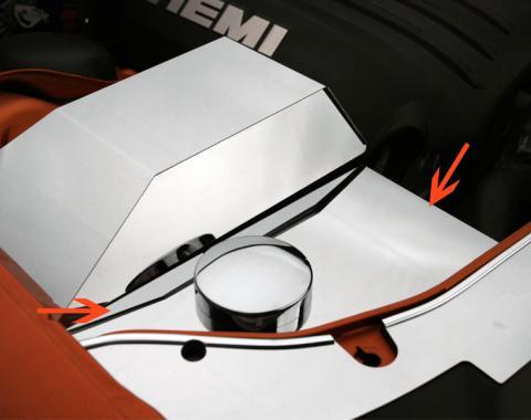 American Car Craft Anti Lock Brake Cover Polished w/Cap 303018
