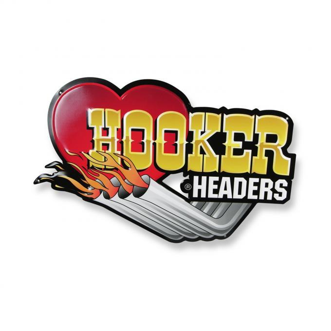 Hooker Headers Metal Sign 10145HKR