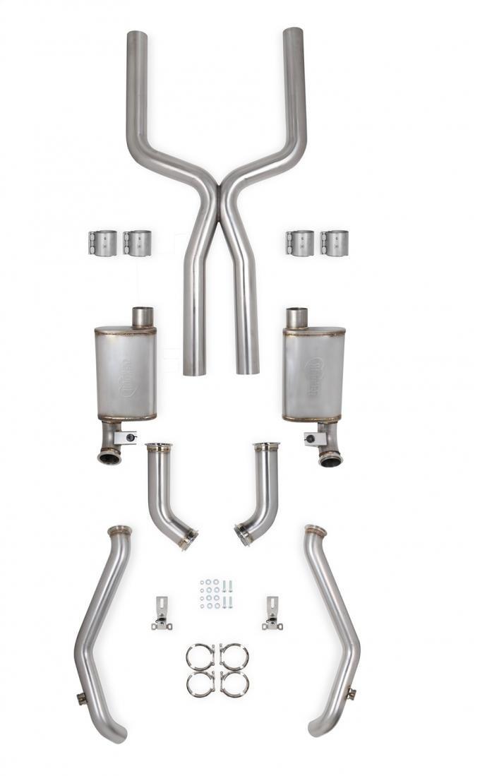 Hooker Blackheart Header-Back Exhaust System 705013130RHKR