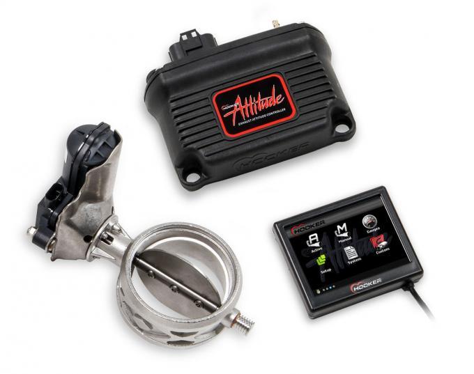 Hooker Blackheart Attitude Adjuster Exhaust Valve Control System 71013003-RHKR
