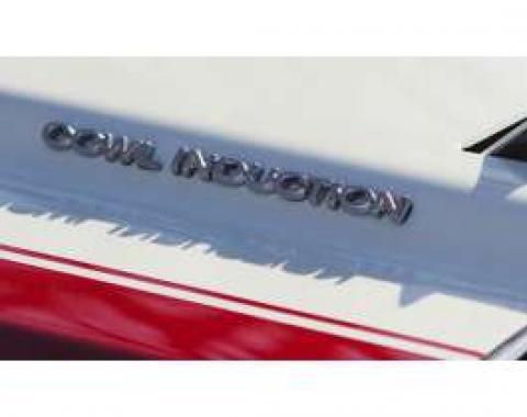 Hood Emblems, Cowl Induction, 1967-1972