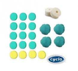 Cyclo, Complete Polishing Accessories Pad Bundle