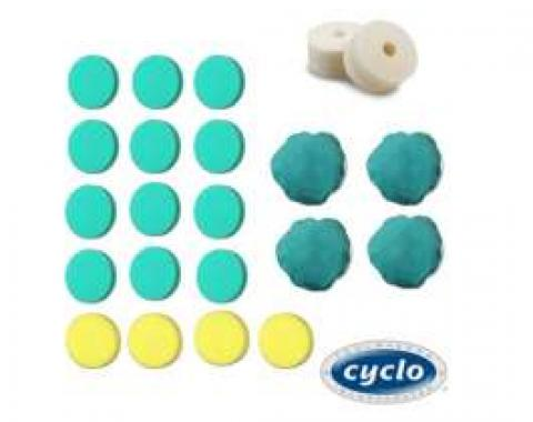 Cyclo, Complete Polishing Accessories Pad Bundle
