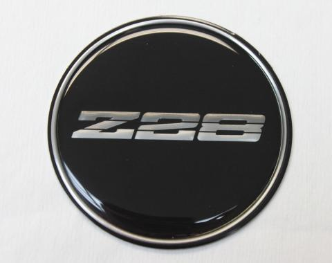 Camaro Wheel Center Cap Emblem, Z28, GM, 1982-1986